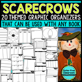 SCARECROWS | Graphic Organizers for Reading | Reading Graphic Organizers