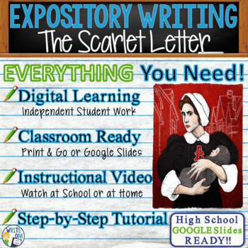 Scarlet Letter by Nathaniel Hawthorne Text Dependent Analysis Expository Writing