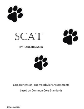 SCAT Comprehension, Vocabulary, and ELA Assessments