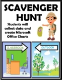 DISTANCE LEARNING SCAVENGER HUNT EDITABLE (Classroom and Outdoor)