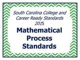 SCCCR Mathematics Process Standards Posters