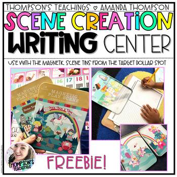 SCENE CREATION WRITING CENTER- FREEBIE