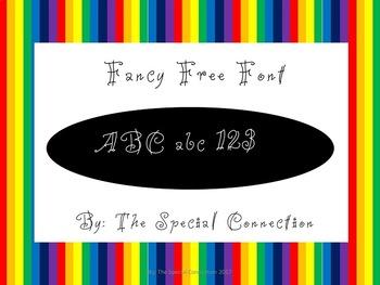 SCFancy Free Font