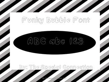 SCFunky Bubble Font