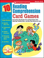 10 Reading Comprehension Card Games (Enhanced eBook)
