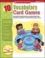 10 Vocabulary Card Games (Enhanced eBook)