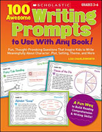 100 Awesome Writing Prompts To Use with Any Book! (Enhanced eBook)