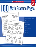 100 Math Practice Pages: Grade 2 (Enhanced Ebook)