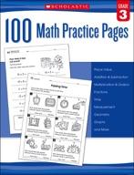 100 Math Practice Pages: Grade 3 (Enhanced Ebook)