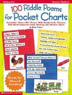 100 Riddle Poems for Pocket Charts (Enhanced eBook)