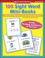 100 Sight Word Mini-Books (Enhanced eBook)