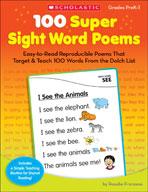 100 Super Sight Word Poems (Enhanced eBook)