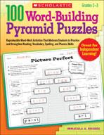 100 Word-Building Pyramid Puzzles