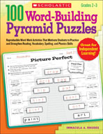 100 Word-Building Pyramid Puzzles (Enhanced eBook)