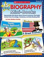 15 Easy Biography Mini-Books