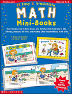 15 Easy & Irresistible Math Mini-Books (Enhanced eBook)