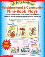 15 Easy-to-Read Neighborhood & Community Mini-Book Plays (
