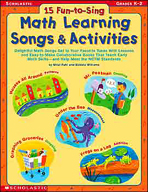 15 Fun-to-Sing Math Learning Songs & Activities (Enhanced eBook)
