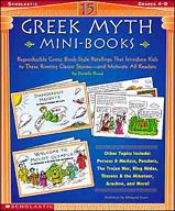 15 Greek Myth Mini-Books (Enhanced eBook)
