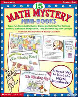 15 Math Mystery Mini-Books (Enhanced eBook)