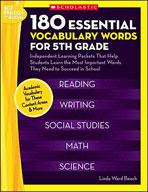 180 Essential Vocabulary Words for 5th Grade (Enhanced eBook)