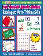 1st Grade Basic Skills: Reading and Math - Thinking Skills (Enhanced eBook)