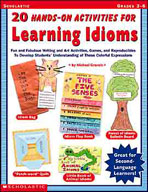 20 Hands-On Activities for Learning Idioms (Enhanced eBook)