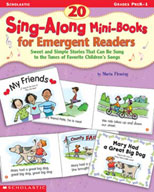 20 Sing-Along Mini-Books for Emergent Readers (Enhanced eBook)