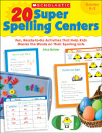 20 Super Spelling Centers (Enhanced eBook)