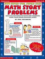 200 Super-Fun, Super-Fast Math Story Problems (Enhanced eBook)