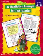 24 Nonfiction Passages for Test Practice