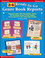 24 Ready-to-Go Genre Book Reports (Enhanced eBook)