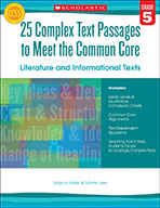 25 Complex Text Passages to Meet the Common Core: Literature and Informational Texts: Grade 6 (Enhanced Ebook)
