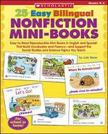 25 Easy Bilingual Nonfiction Mini-Books (Enhanced eBook)