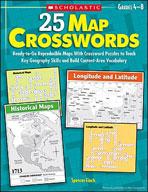 25 Map Crosswords