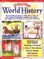 25 Mini-Plays: World History (Enhanced eBook)