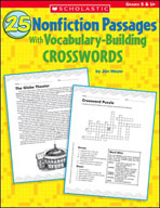 25 Nonfiction Passages With Vocabulary-Building Crosswords (Enhanced eBook)