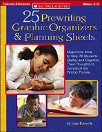 25 Prewriting Graphic Organizers & Planning Sheets (Enhanced eBook)