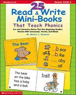 25 Read and Write Mini-Books That Teach Phonics (Enhanced eBook)