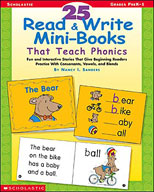 25 Read and Write Mini-Books That Teach Phonics (Enhanced eBook)