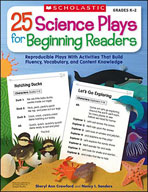 25 Science Plays for Beginning Readers
