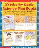 25 Solve-the-Riddle Science Mini-Books (Enhanced eBook)