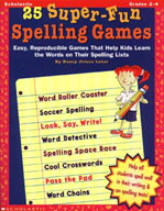 25 Super-Fun Spelling Games (Enhanced eBook)