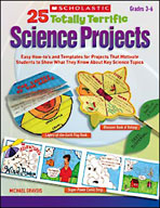 25 Totally Terrific Science Projects (Enhanced eBook)