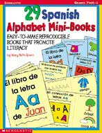 29 Spanish Alphabet Mini-books (Enhanced eBook)