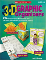 3-D Graphic Organizers (Enhanced eBook)