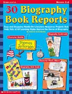 30 Biography Book Reports