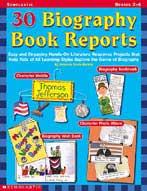 30 Biography Book Reports (Enhanced eBook)