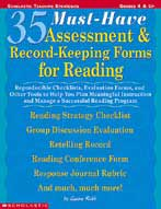 35 Must-Have Assessment & Record-Keeping Forms for Reading (Enhanced eBook)