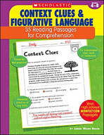 35 Reading Passages for Comprehension: Context Clues and Figurative Language (Enhanced eBook)